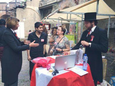 Nieuwe Leidenaren maken kennis met Leidens Ontzet