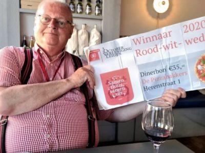 3 keer feest: winnaars rood-wit-wedstrijd hebben genoten van hun prijs!
