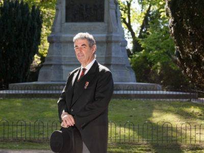 3 October Vereeniging neemt afscheid van voorzitter Michiel Zonnevylle