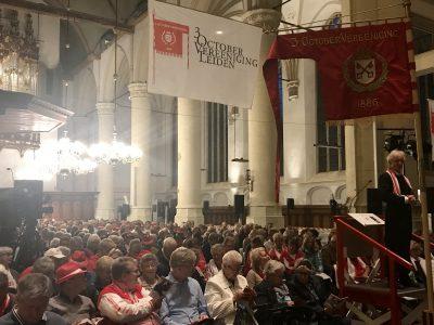 Bijna 1500 zangers oefenen voor Leidens Ontzet