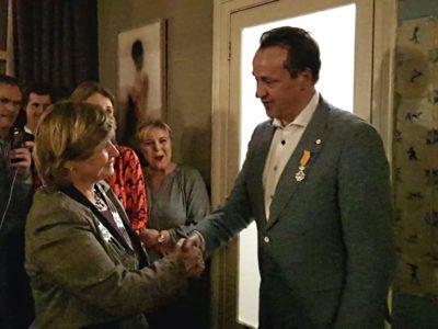 Wim de Leeuw benoemd tot lid in de Orde van Oranje-Nassau