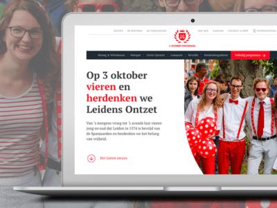 Nieuwe website voor Leidens Ontzet